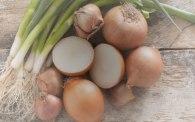 Κρεμμύδια ξερά - φρέσκα